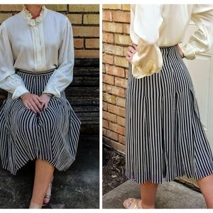 VINTAGE GIVENCHY HISTORY: Car Wash Pleated Skirt